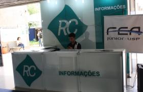 Estande do evento